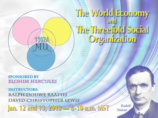 Rudolf Steiner-World Economy & the Threefold Social Order